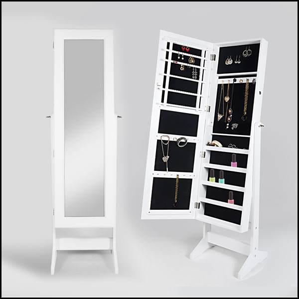 Muebles multiusos el mirador de laura for Espejo joyero conforama