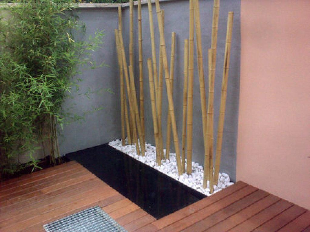 El jard n de la alegr a el mirador de laura - Jardineras con bambu ...