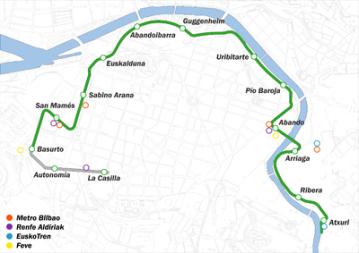 plano Tranvía