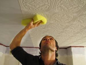 empapelando-techos