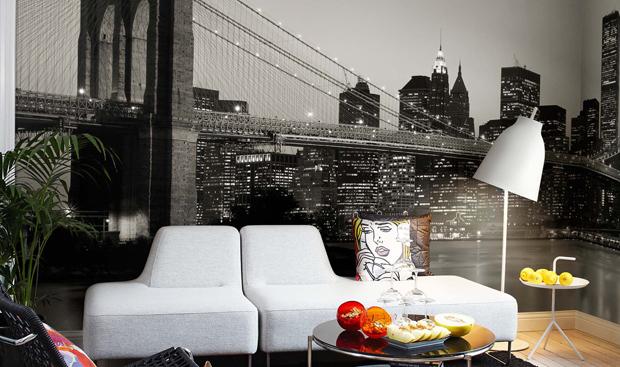 El papel de tu vida el mirador de laura - Papel pintado nueva york ...