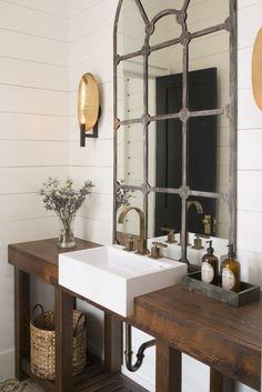 lavabo espejo ventana