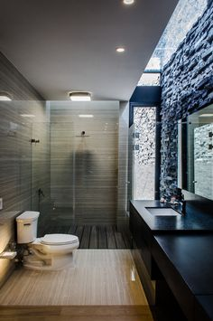 Baño con tragaluz
