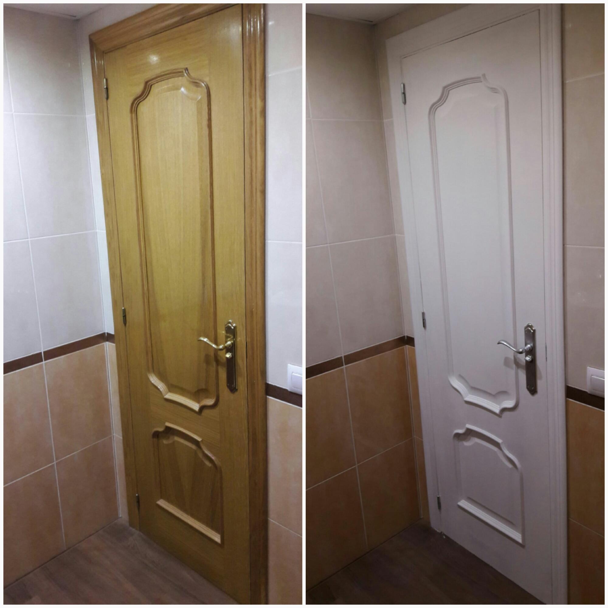 Puertas blancas el mirador de laura for Puertas macizas blancas