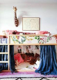 cama reversible Kura Ikea