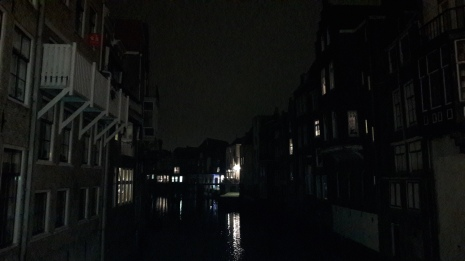 Canal Dordrecht Holanda