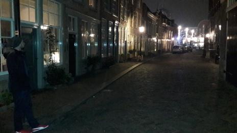 Calle Dordrecht Holanda