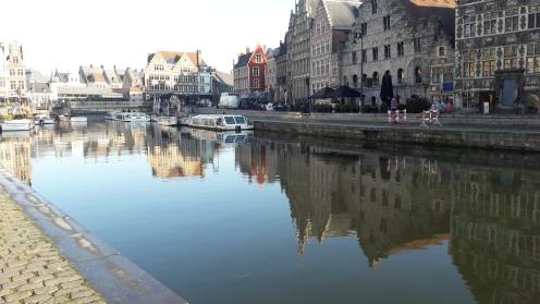 río Lys Gante