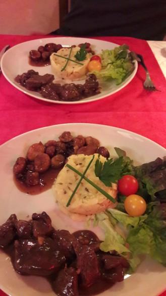Cena francesa Noche vieja