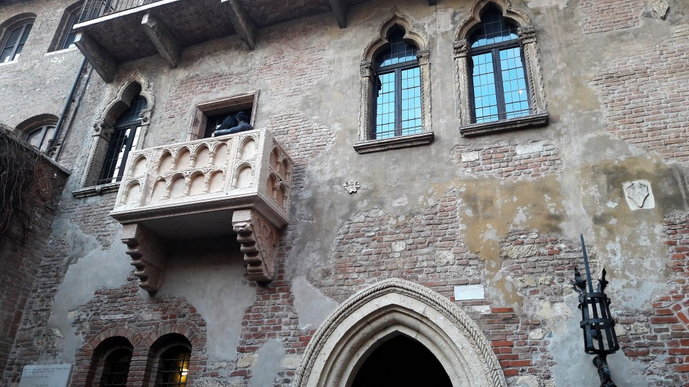 Balcón Casa Julieta Verona