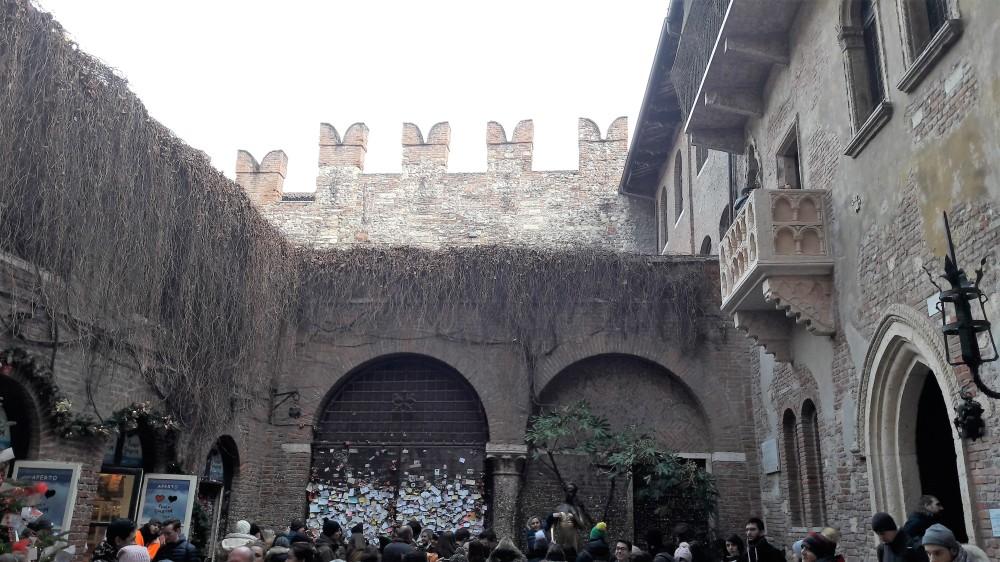 Patio Casa Julieta Verona