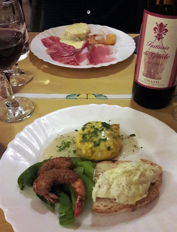 Cena Nochevieja Florencia