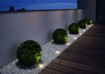 jardinera baja iluminada