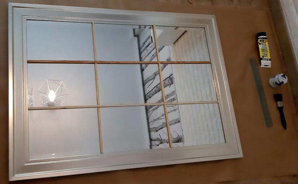 como hacer espejo ventana 3