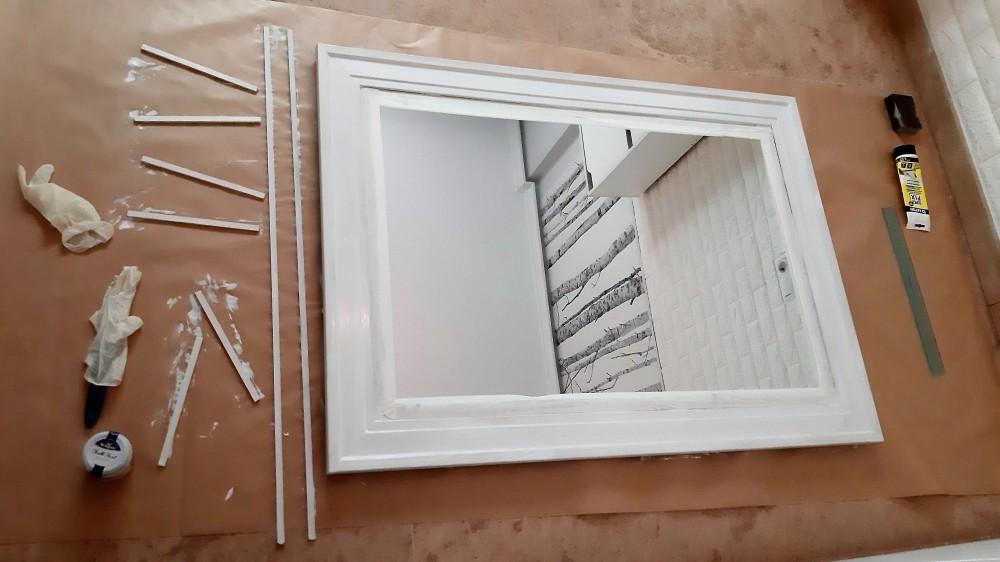 como hacer espejo ventana 4