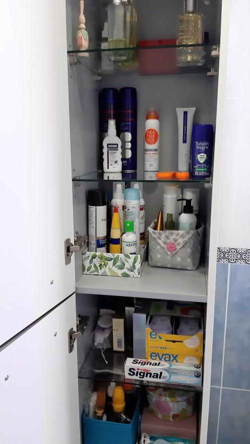 Interior armario baño