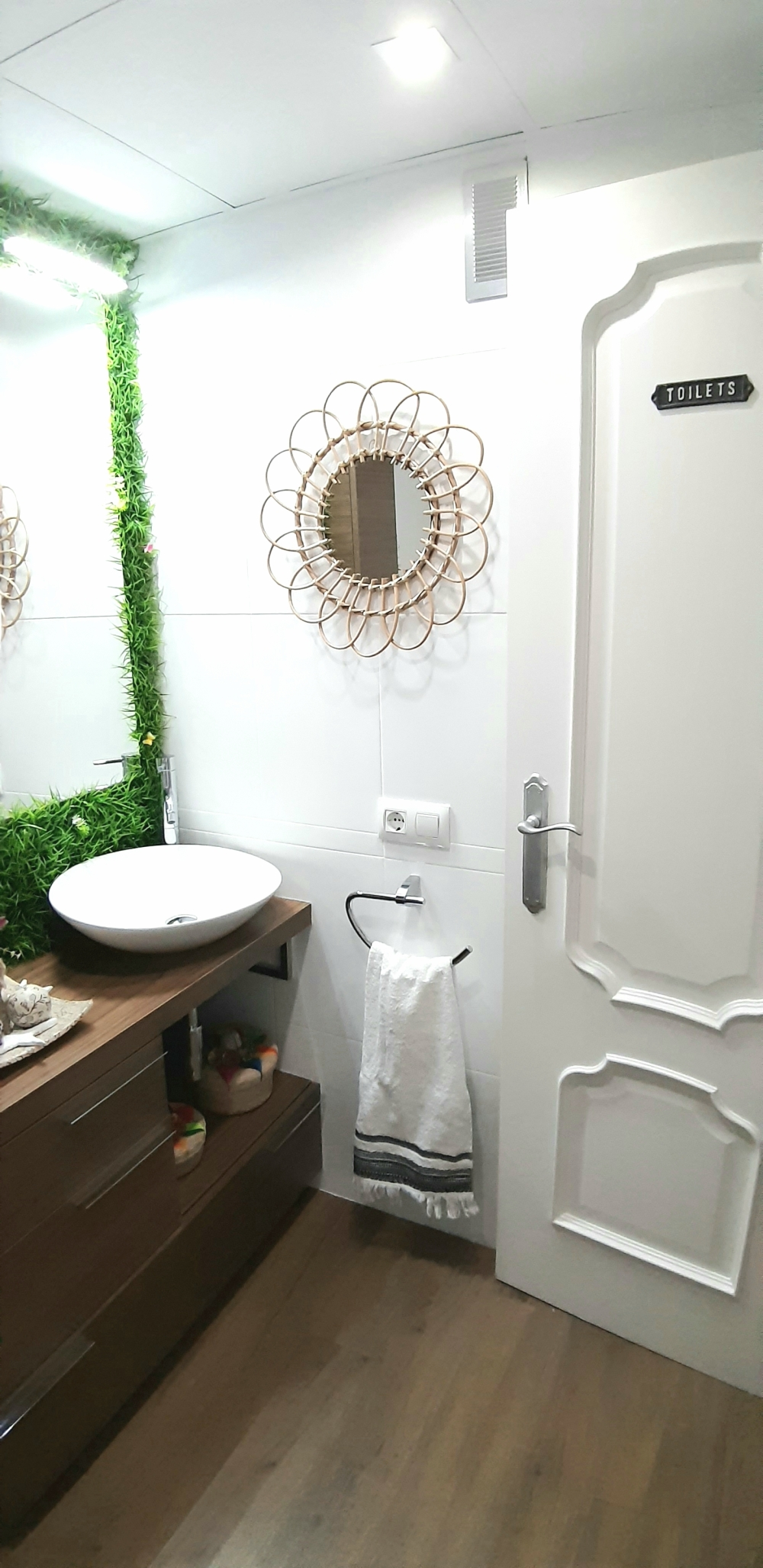 Renovación baño sin obras